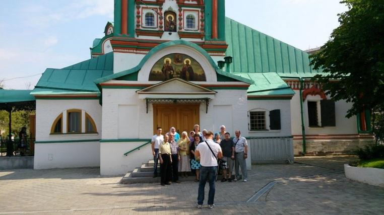 2014_08_10_ Паломничество в Зачатьевский - Хамовники - Пресня