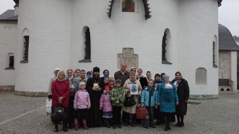 2014_10_12_Паломничество в Марфо-Мариинскую обитель и Новоспасский монастырь