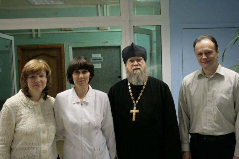2015_01_09 Рождественское поздравление в Боткинской больнице