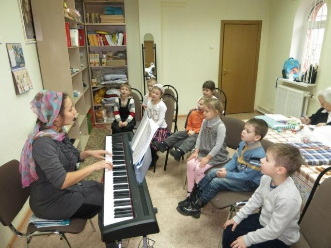 2015_03_01_Занятия в воскресной школе в праздник Торжества Православия