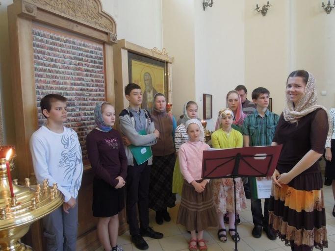 2016_05_15 Детская литургия в больничном храме