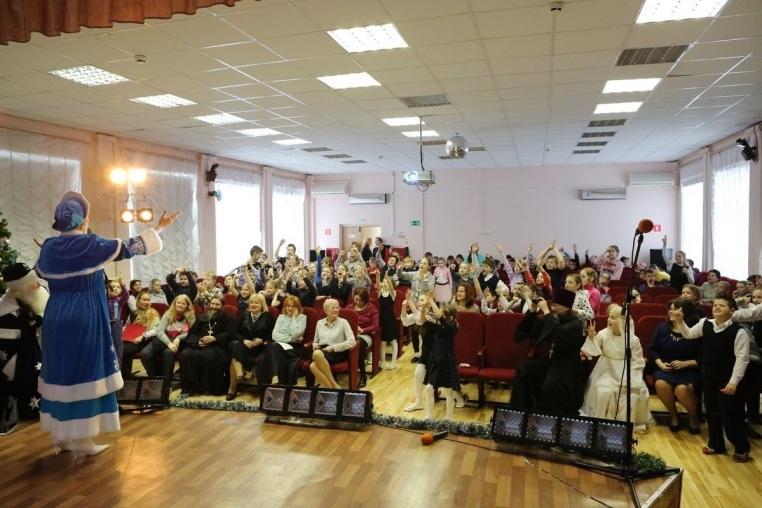 2017_01_17_Рождественский концерт в школе-интернате № 52