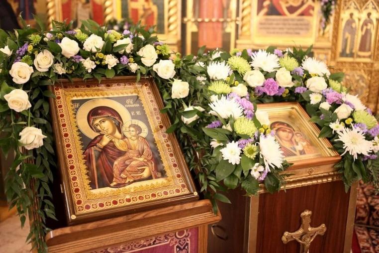 2017_02_03_Престольный праздник, Божественная  литургия