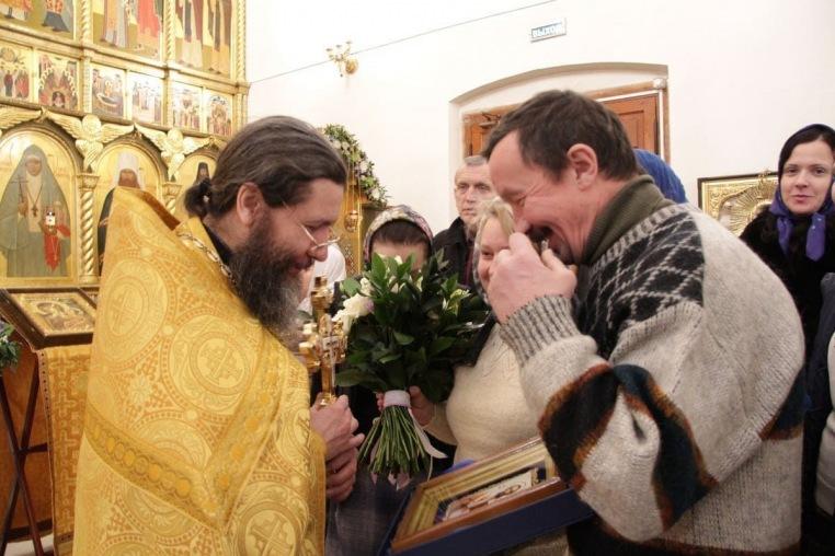 2017_02_09_Тезоименитство протоиерея Иоанна Кудрявцева, Божественная литургия