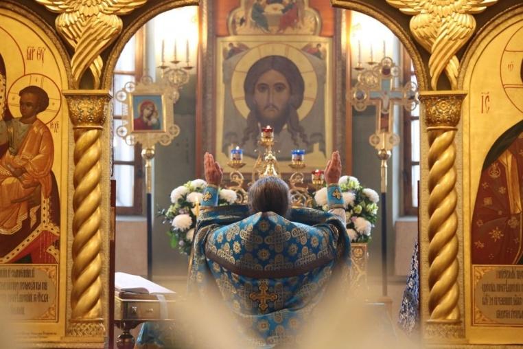 2017_09_21_Рождество Богородицы, Божественная  литургия