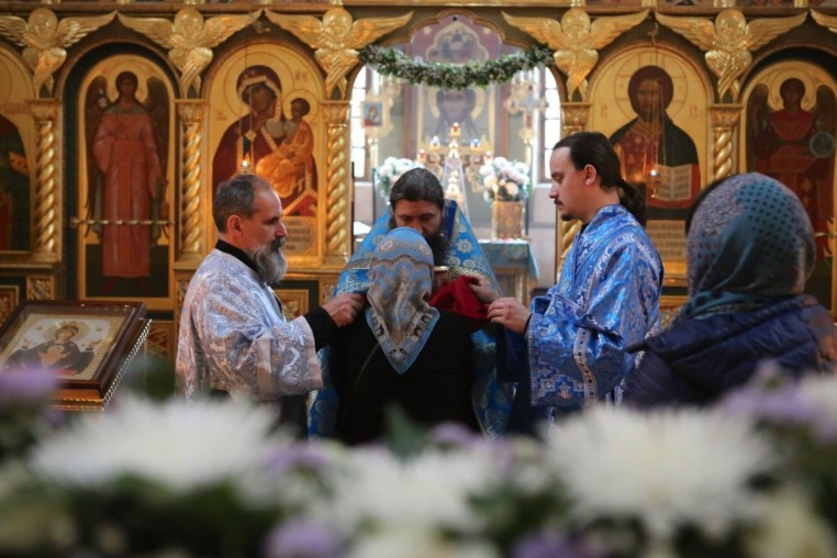 2017_10_14 Покров Богородицы, Божественная литургия