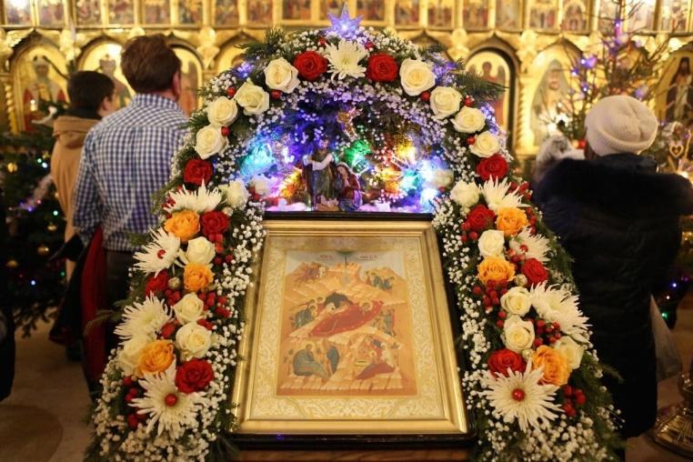 2018_01_07  Рождество Христово, Божественная литургия