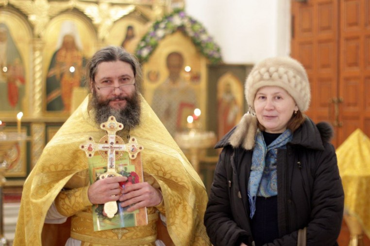 2018_02_09 Тезоименитство протоиерея иоанна Кудрявцева, Божественная литургия