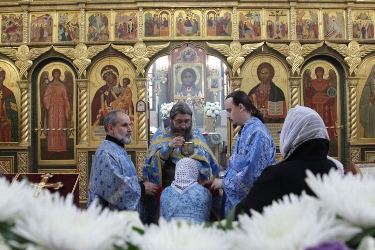 2019_10_14 Покров Пресвятой Богородицы, Божественная литургия