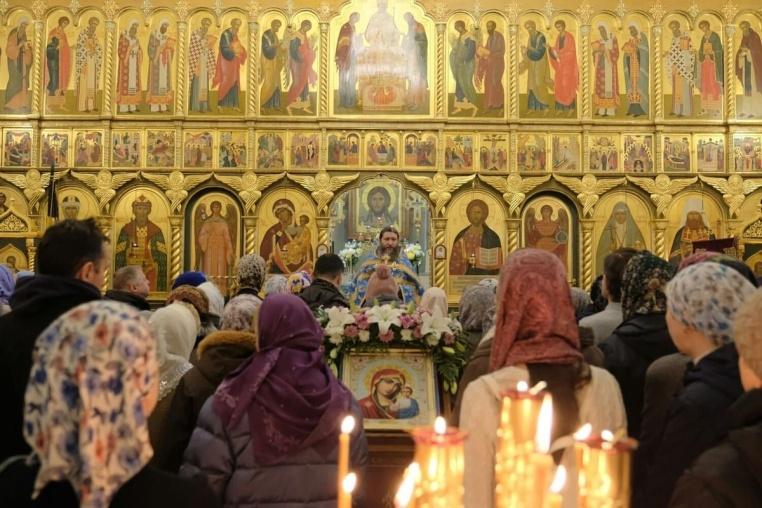 2019_11_04_Празднование в честь Казанской иконы Божией Матери