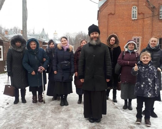 2020_01_02-04 Паломничество в Шамординский монастырь и Оптину пустынь