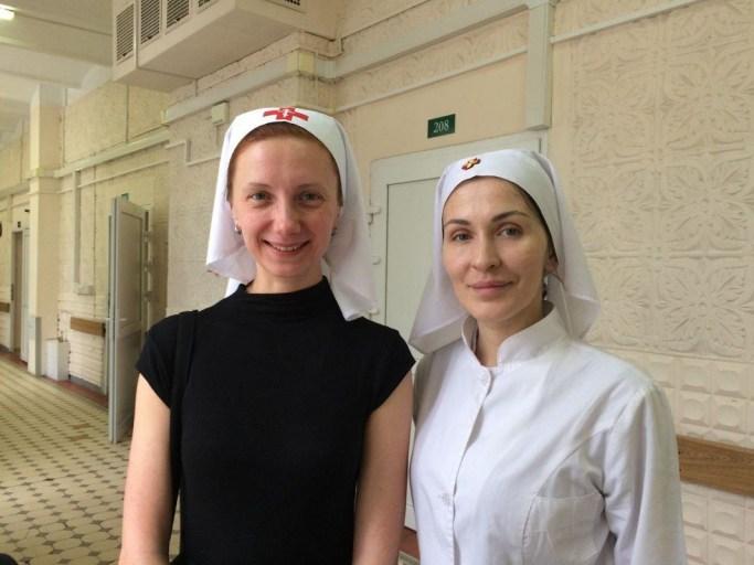 2020_01_09-10 Поздравление пациентов и персонала Боткинской больницы с Рождеством Христовым