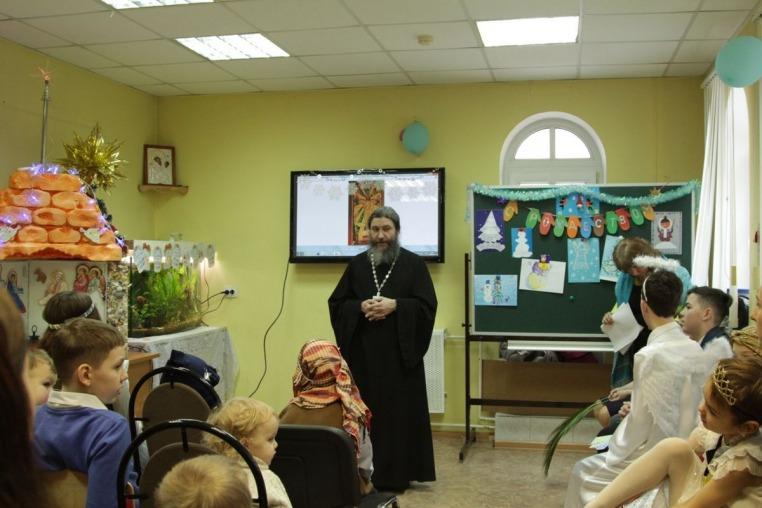 2020_01_12 Рождественский праздник в Воскресной школе