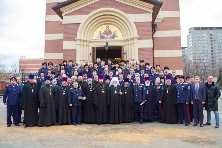 2020_01_26_Архиерейское богослужение и верстание казаков