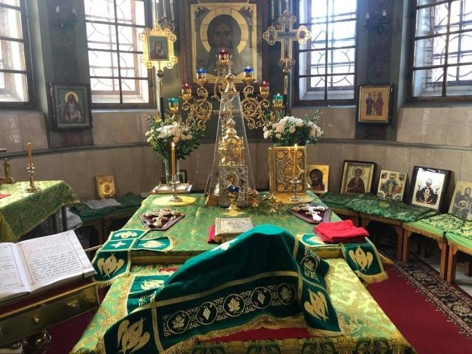 2020_04_11-12 Вход Господень в Иерусалим, Вербное воскресенье