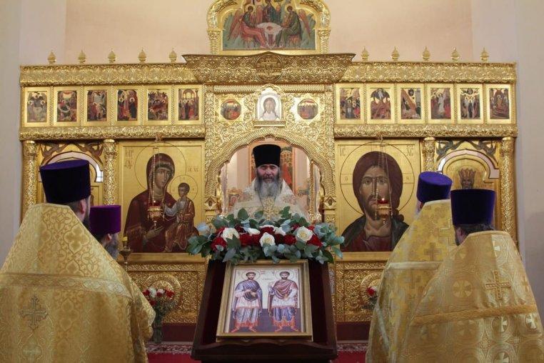 2020_11_14 Престольный праздник храма свв. Космы и Дамиана Асийских