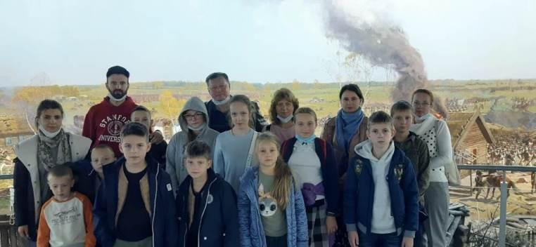 """2021_09_05 Экскурсия в музей """"Бородинская панорама"""""""