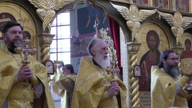 75-летний юбилей протоиерея Сергия Рождественского 7 июля 2019 года