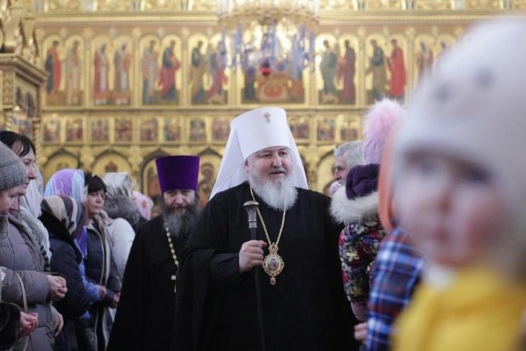 Архиерейское богослужение в день отдания праздника Богоявления 27 января 2019 года