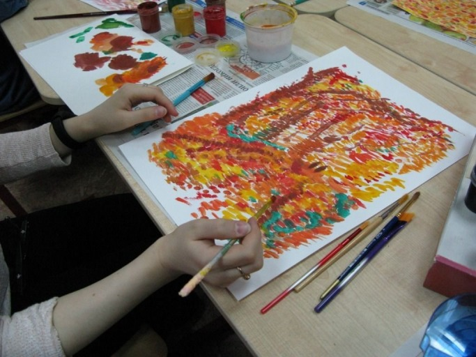 Мастер-класс по живописи 20 октября 2018 года
