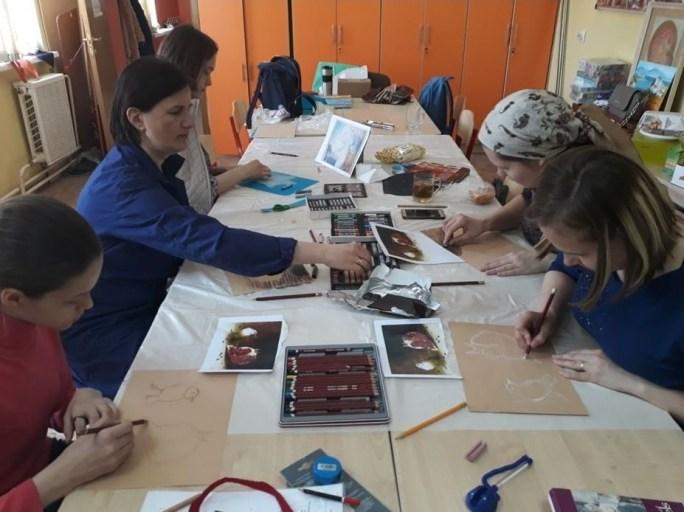 Мастер-класс по живописи 21 апреля 2018 года