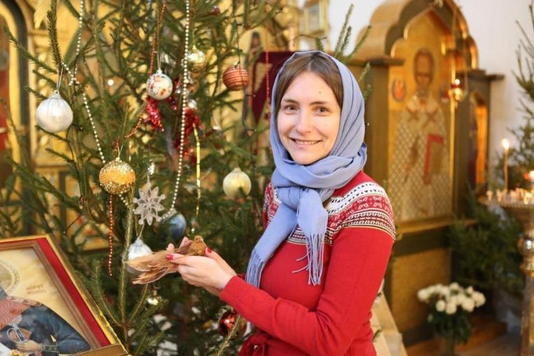 Подготовка храма к празднику Рождества Христова 5 января 2019 года