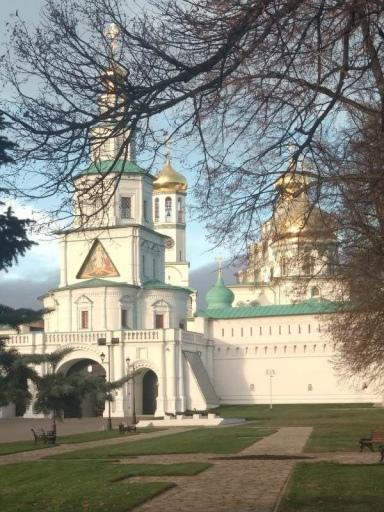 Поездка в Ново-Иерусалимский и Иосифо-Волоцкий монастыри 27 октября 2018 года