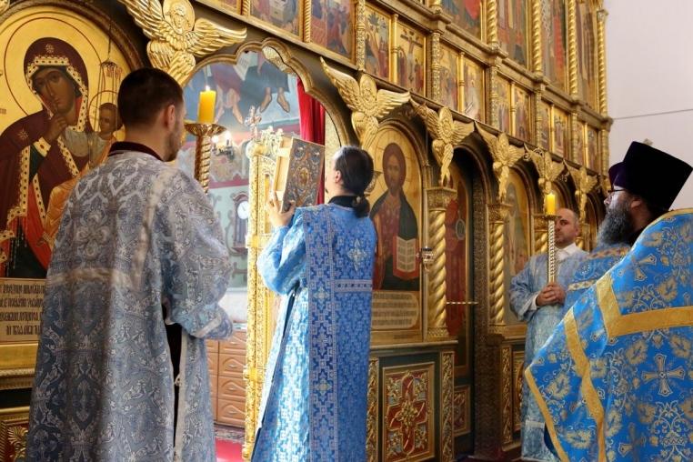 Покров Пресвятой Богородицы, Божественная литургия 14 октября 2018 года