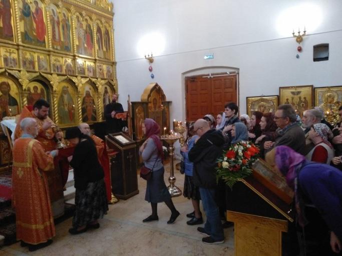 Поздняя Пасхальная Божественная литургия 28 апреля 2019 года