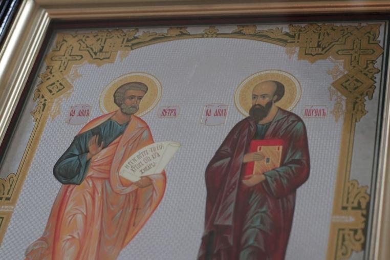 Праздник св. первоверховных апостолов Петра и Павла  ранняя Божественная литургия 12 июля 2019 года