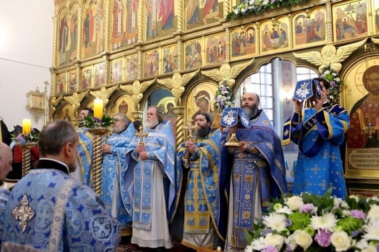 Престольный праздник 3 февраля 2019 года - Божественная литургия