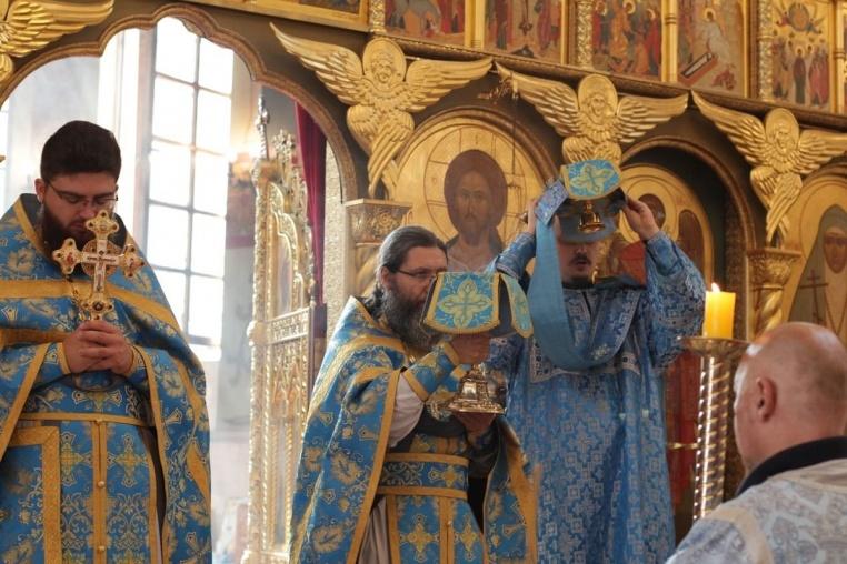 Успение Богородицы, Божественная литургия, 28 августа 2018
