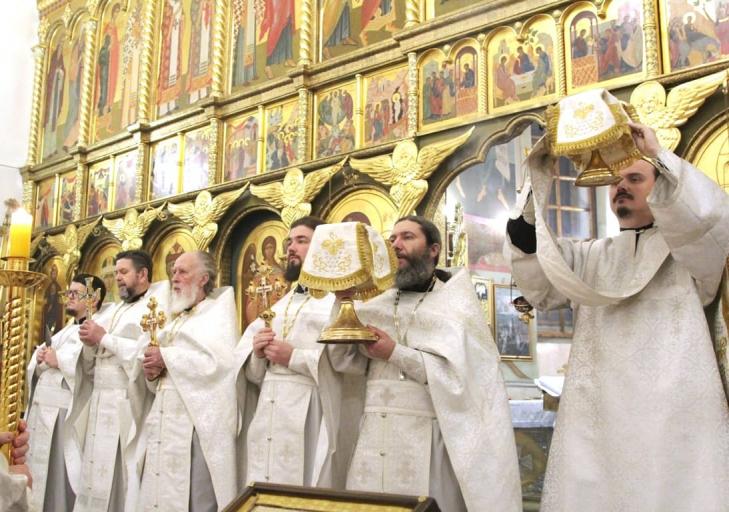 2021_01_07 Рождество Христово, Божественная литургия