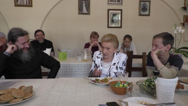 Встреча с Ольгой Николаевной  Куликовской-Романовой 26 мая 2019 года