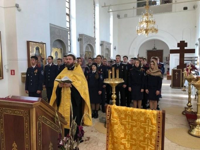 Встреча со студентами-казаками 4 октября 2018 года