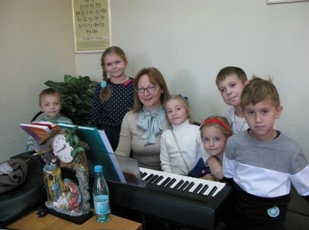 Занятия в воскресной школе 11 ноября 2018 года